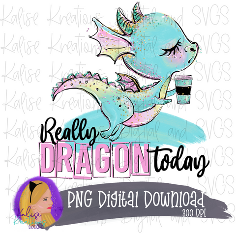 Really Dragon Today (coffee) PNG