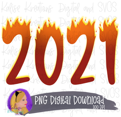 2021 (Fire) PNG