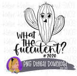 What the fucculent? Mini bundle PNG