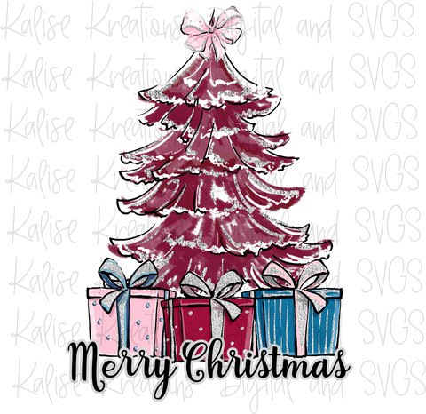 Merry Christmas scene PNG