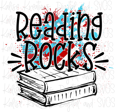 Reading Rocks PNG