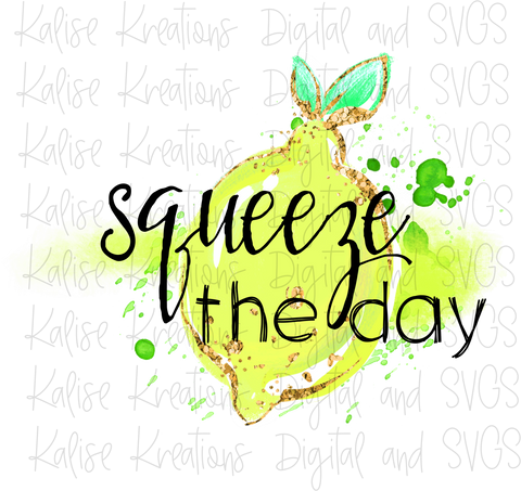 Squeeze the Day PNG
