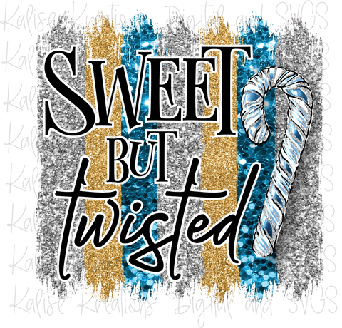 Sweet but Twisted Blue PNG