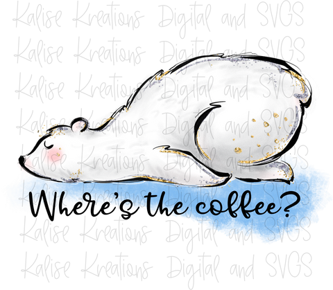Where's the coffee? PNG