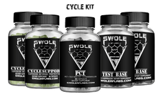 Swole AF Labs Cycle Kit Products Bundle