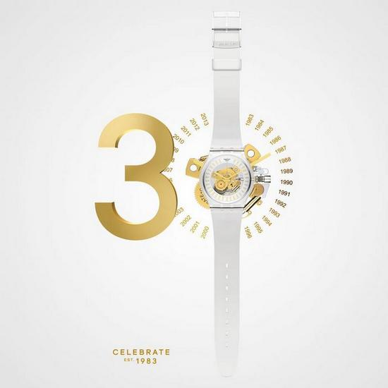 Swatch 30 Anniversay special edition