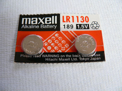 Maxell 390 1130 Fifteen batteries