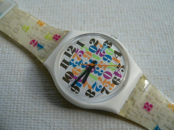 Swatch Numbers Everywhere GW137