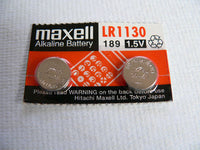 Maxell 390 1130 Lot of Ten Batteries
