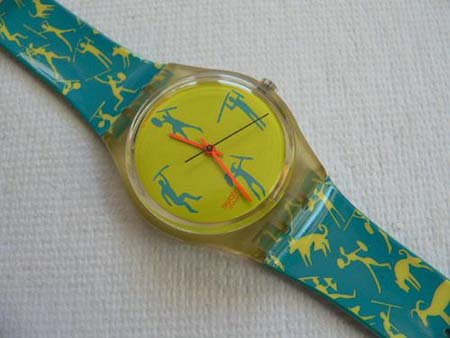African Can GK120 Swatch Watch