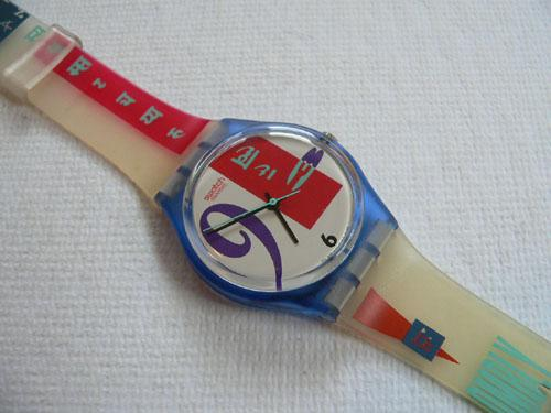 Bold Face GN112 Swatch Watch