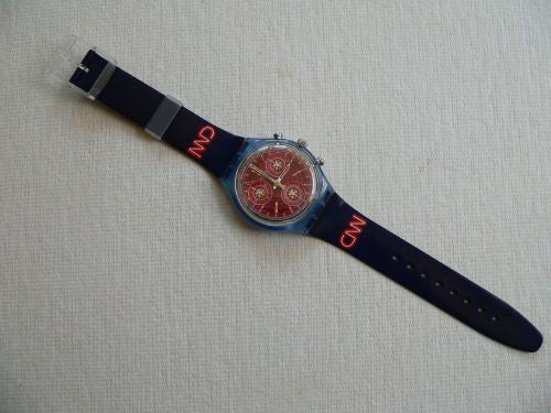 CNN SCN109 Chrono Swatch Watch (Fury)