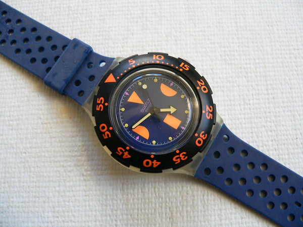 Deep Blue VARIATION SDK100V Swatch Watch
