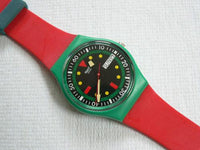 Emerald Diver Swatch Watch