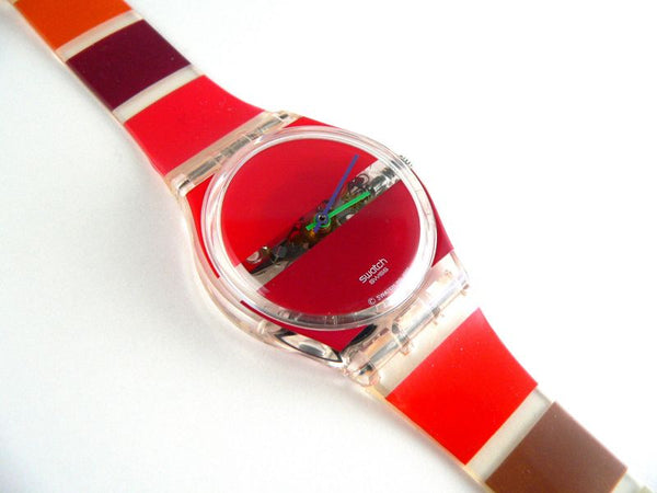 Red Painted Time GK377