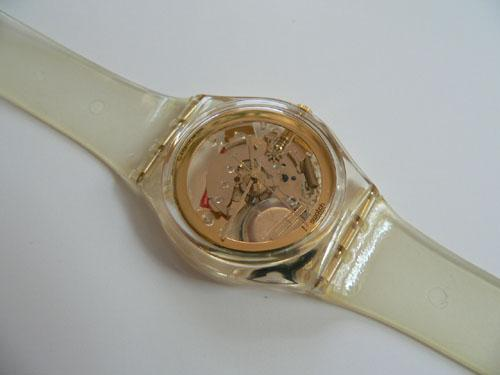 Swatch Watch Golden Jelly GZ115