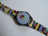 Gold Inlay GB141 Swatch Watch