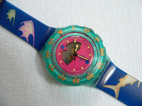 Happy Fish V1 Swatch Watch