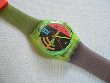 Hang Twelve GJ102 Swatch Watch