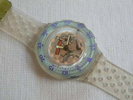Jelly Bubbles SDK104 Swatch Watch