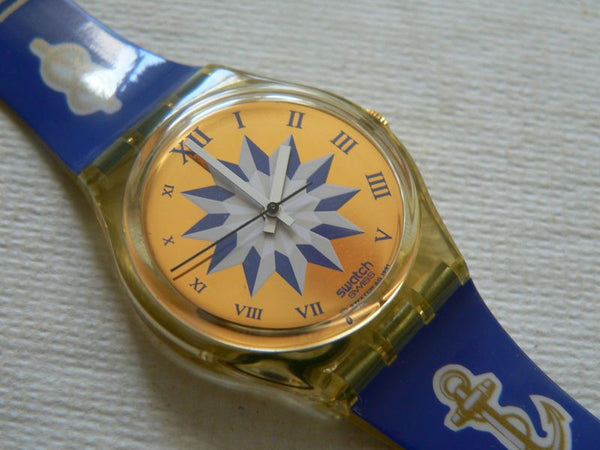 Swatch watch Blue Anchorage GK140
