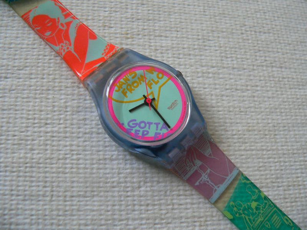 Betty Lou LN111 Swatch Watch