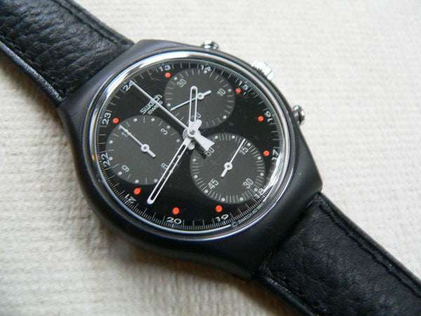 Wall Street Chrono Swatch Watch SCB106