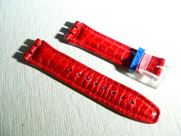 Red Leather Band Aquachrono Lillibeth SBK104