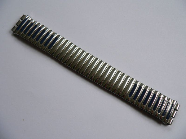 Silver Flexible Metal Band