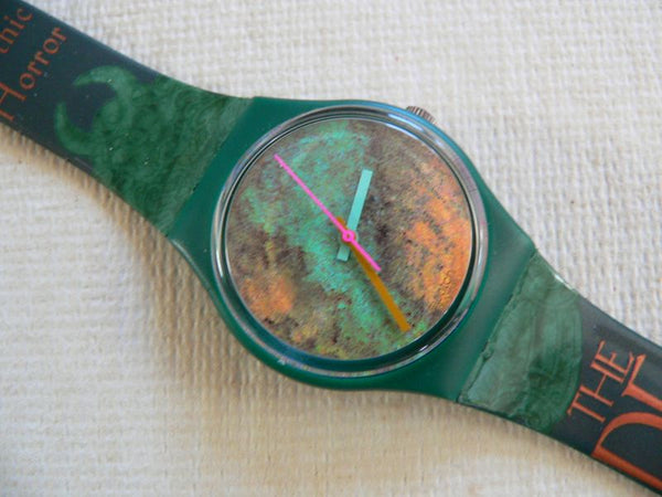 Old Bond SB Swatch Watch