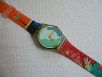 Papaya Swing Swatch Watch