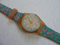 Pinkdrip Swatch Watch