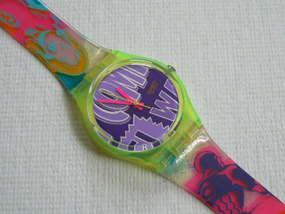Robin GJ103 Swatch Watch