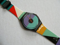 St. Catherine Point GB121 Swatch Watch