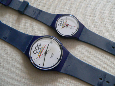 Swatch Special set Olympia II set GZ402 & LZ102 in original boxes and tags.