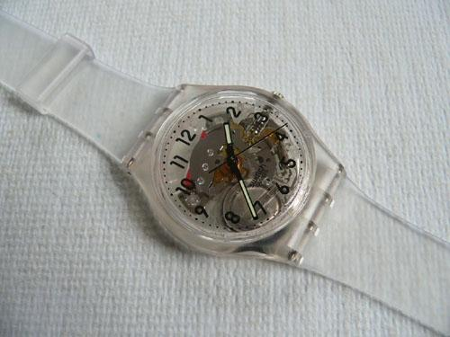 Swatch watch Transparent GK209