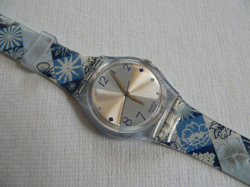 Scottish Blue GN215 Swatch