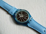 Swatch Solar Happy Blue SRN100