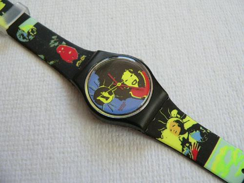 Sun Lady LB125 Swatch Watch