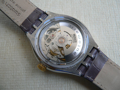 Swatch Body & Soul YAS100 Leather