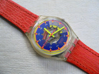 Swatch Sol GK151L Leather band