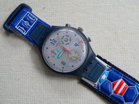 GOOOAL - USA SCZ401US Swatch Watch