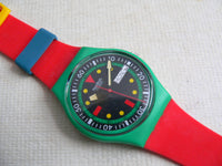 Emerald Diver Swatch Watch with Kid band Special release.