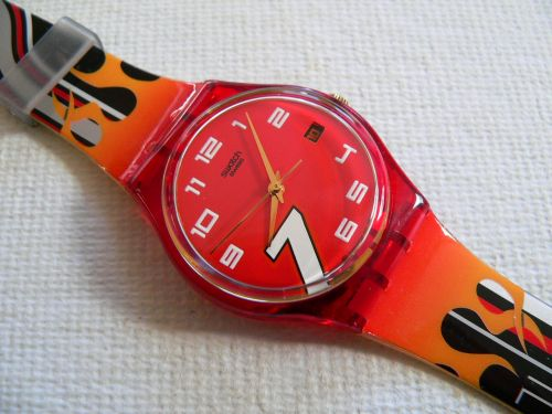 Swatch Fire Proof GR402