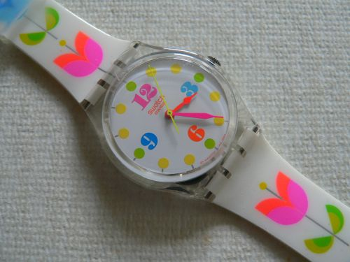 Swatch Floral Flash GE152