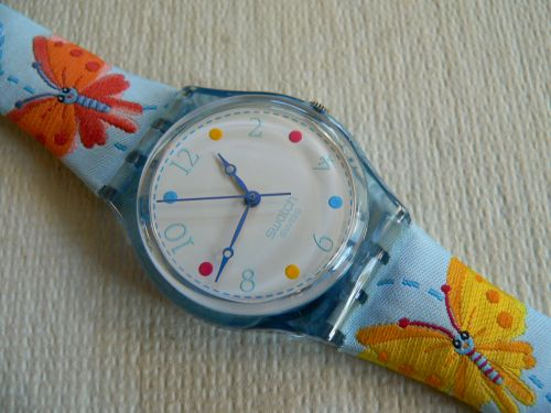 Swatch Flutter By GS125