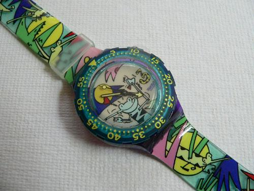 Jungle SDV900 Swatch Watch