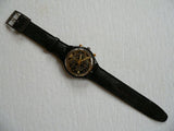 Pure Black SCB114 Swatch Watch