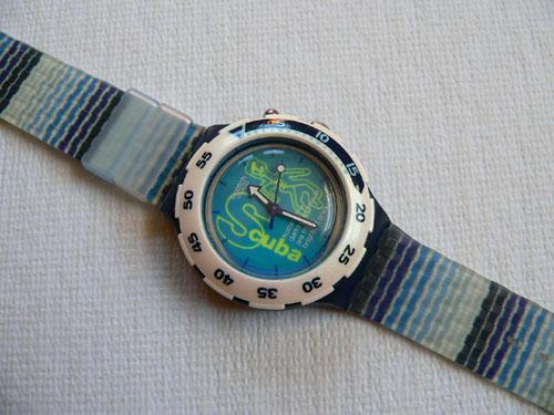 Skelet-Eau SDS900 Swatch watch