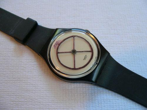 Wheel Animal GZ120 swatch watch